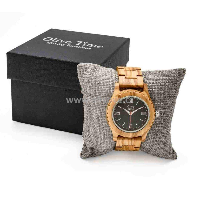 Dámské hodinky z olivového dřeva  a39cbcf932